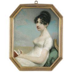 Adam Buck, Portrait of a Lady, 1805