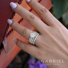 "5,244 Likes, 30 Comments - Gabriel & Co. (@gabrielandco) on Instagram: ""You deserve more. Discover these diamond engagement ring by clicking the link in our bio. . . .…"""
