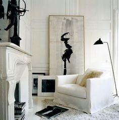 Black & white artwork