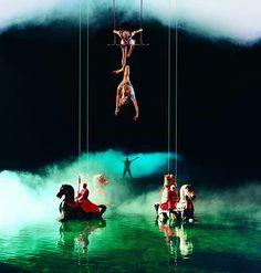 Cirque du Solei O. Las Vegas.