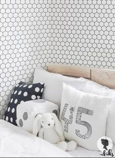 Geometric Removable Wallpaper / Trendy Self by ThinkNoirWallpaper ...