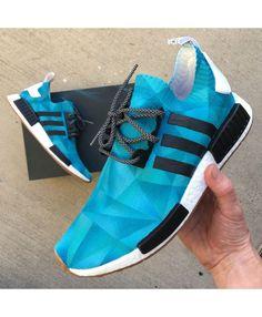 ac3c451eca12 Adidas NMD Custom Painted Monochromatic Trainers UK Nmd Sneakers
