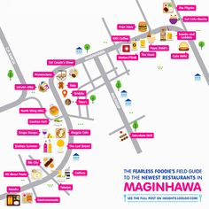 Fearless Foodie's Field Guide to the Newest Restaurants in Maginhawa [Click on the image to enlarge!]