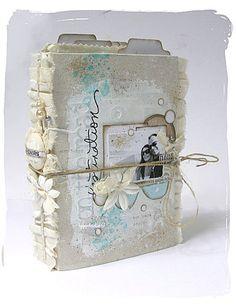 #papercraft #Scrapbook #Mini Album