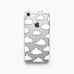 iPhone 7 geval wolken iPhone 6 Case iPhone 7 Plus Case iPhone