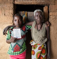 """""""It is a right and obligation of parents to ensure that their child has a identity within the family and the Mozambican state."""" - Graca Machel talking about Birth Registration    http://youtu.be/S5kL4SDfMiY    © UNICEF Mozambique/2012/Mark Lehn"""