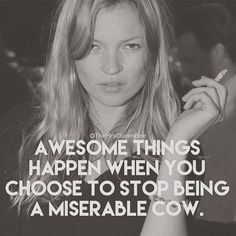 Kate Moss, BlackWhite, Quote, Cigarette, Awesome