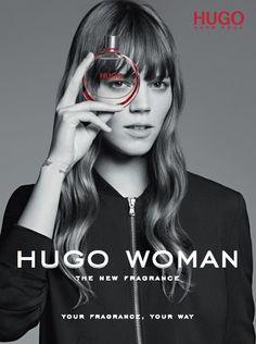 hugo woman (sárgadinnye, papaja, barack, ciklámen, liliom, jázmin, nőszirom, vanília, cédrus, szantál, benzoin)