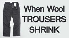 My Wool Trousers Shrank #trousers #menstyle #pants