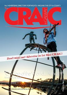 #ClippedOnIssuu from The CRAIC is out 1st May! Don't Miss It Out! Out 1, May, Advertising, Author, World, Books, Movie Posters, Libros, Book