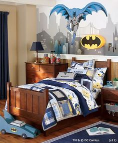 yep the kid has no chooice....this is going to be his room someday:) lol