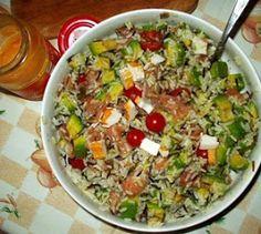 Platos Latinos, Blog de Recetas, Receta de Cocina Tipica, Comida Tipica, Postres Latinos: Como Preparar Ensalada de Arroz con Aguacate, Recetas Colombianas