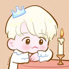 Baekhyun Fanart, Exo Fan Art, Kpop, Chibi, Hello Kitty, Kawaii, Cute, Fictional Characters, Amazing