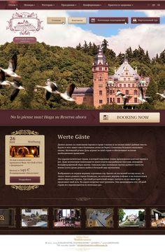 SCHLOSS HOTEL WOLFSBRUNNEN by Denis Espinoza, via Behance