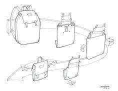 Sketches by Josh Buller, via Behance