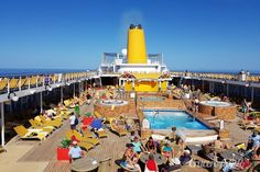 Valoración y Experiencia en el Costa NeoRiviera ล่องเรือสำราญ http://www.pandktraveldesign.com/Cruise