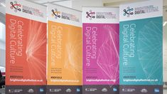 Printers of Pop-up, Retractable Banner and Roller Banner Stands - Exhibit Printing Brighton