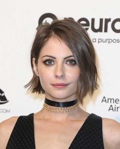 Close to my natural hair color - Best New Hair Styles Haircuts For Fine Hair, Short Bob Hairstyles, Choppy Bob Fine Hair, 1920s Hairstyles, Layered Hairstyles, Hairstyles 2018, Celebrity Hairstyles, Natural Hair Styles, Short Hair Styles