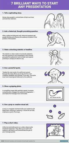 Business and management infographic & data visualisation 7 Brilliant Ways to Start Any Presentation. Infographic Description 7 Brilliant Ways to Start Lerntyp Test, Coaching Personal, School Study Tips, School Tips, School Stuff, School Hacks, College Life, Education College, Education City