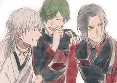 画像 Touken Ranbu, Cute Boys, Anime Guys, Sword, Anime Art, Character Design, Geek Stuff, Fan Art, Manga