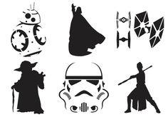 11 free Star Wars pumpkin carving templates for Halloween!