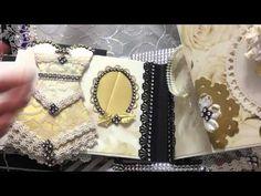 super glamorous wedding mini album (FOR SALE) - YouTube