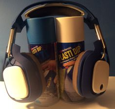 Make your headphones look extra awesome with Plasti Dip. Maybe they sound extra awesome too? You'll have to try it to find out.