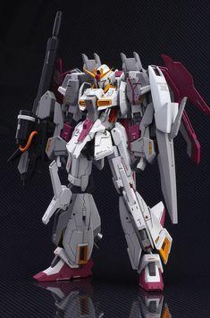 GUNDAM GUY: HGBF 1/144 Lightning Zeta Gundam Karaba colors - Customized Build