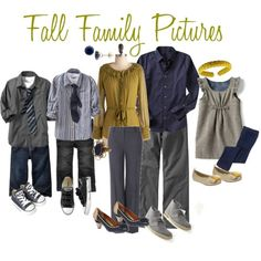 fall family picture outfit ideas | Fall Family Pictures