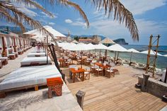 Beach club 88, Budva, Montenegro