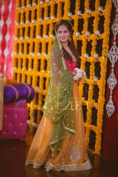 Pakistani Bridal Lehenga Choli/Sharara/Mehendi dress by IrmaDesign Pakistani Bridal Lehenga, Pakistani Wedding Outfits, Bridal Outfits, Pakistani Dresses, Shadi Dresses, Indian Outfits, Bridal Mehndi Dresses, Walima Dress, Asian Wedding Dress