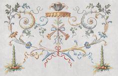 surface fragments: Panneau décoratif