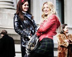Gossip girl, Blair and Serena