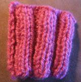 Free Knitting Pattern - Stitch Patterns: 3x3 Ribbing Stitch