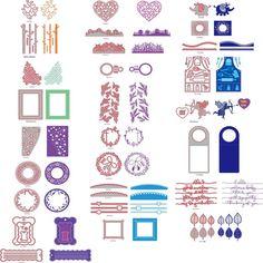 Steel Metal Crafts Cutting Dies Embossing Scrapbooking Stamp Stencil Paper Card