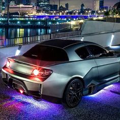City Lights - Mazda RX8