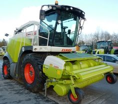 Here's a bunch of pics from the manufacturer Claas. If you like Forage Harvesters, you will like it. http://www.agriaffaires.co.uk/used/1/forage-harvester-parts.html