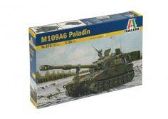 Carro Armato M109A6 Paladin scala 1:35