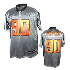 NFL shadow gray shirt Chicago Bears #90 Peppers Jersey