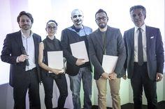 Paola Taccardi, Dario Gaudio e Vittorio Venezia  with Vittorio Pavarin (Cristlaplant Sales & Marketing Manager) and Luca Fallavena (CEO Falper Ltd.) — SuperStudio Più - via Tortona 27 Milano.