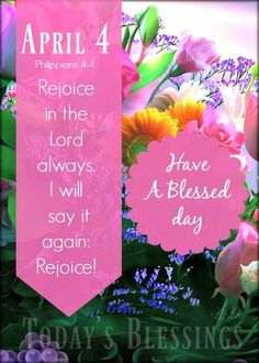 April 4th, Blessed, Lord, Sayings, Day, Lyrics, Quotations, Idioms, Quote