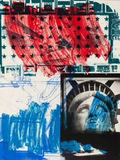 Post-War & Contemporary:Pop, ROBERT RAUSCHENBERG (American, 1925-2008). People for theAmerican Way, 1991.