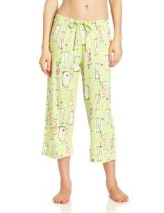fc382ce06f3 Hue Sleepwear Women s Leomonade In The Garden Capri