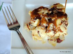 admittedly not a lover of bread pudding...BUT this Toasted Almond Bread Pudding may just win me over!