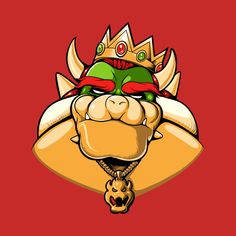 """Notorious B."" by Angdzu >> Bowser in the style of The Notorious B. Super Mario Bros Nintendo, Super Mario Brothers, Mario Smash, King Koopa, Character Art, Character Design, Human Drawing, Old Video, Video Game Characters"