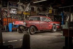 Field Find: Time Capsule 1957 Chevy Gasser is Window into Drag Racing's Past - Hot Rod Network