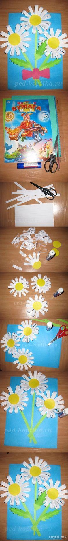 laboratori lavoretti e attività festa della mamma regalo biglietto fiori originale kids craft mum day