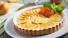 Pomysł na pyszny deser - słoneczną tartę brzoskwiniową według Pawła Małeckiego! Próbowałeś już?