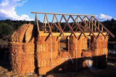Izgradnja kuće od bala slame