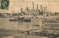 1899 - L'usine RATP du quai de Bercy   Paris 12ème